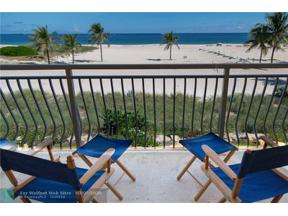 Property for sale at 1710 S Ocean Ln Unit: 203, Fort Lauderdale,  Florida 33316