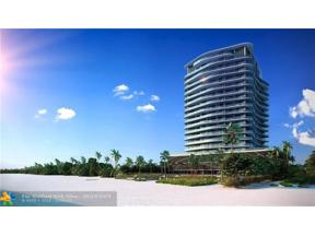 Property for sale at 730 Ocean Unit: 1602, Pompano Beach,  Florida 33062