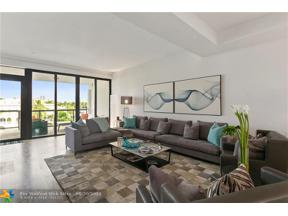 Property for sale at 60 Hendricks Isle Unit: 402, Fort Lauderdale,  Florida 33301
