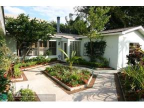 Property for sale at 1524 NE 18th Ave, Fort Lauderdale,  Florida 33304