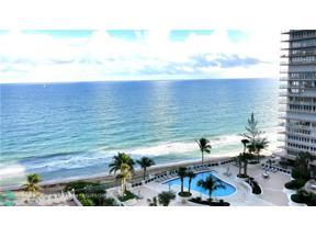 Property for sale at 4250 Galt Ocean Dr Unit: 14H, Fort Lauderdale,  Florida 33308