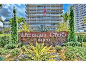 Property for sale at 4020 Galt Ocean Dr Unit: 606, Fort Lauderdale,  Florida 33308