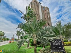 Property for sale at 100 S Birch Rd Unit: 1701A, Fort Lauderdale,  Florida 33316