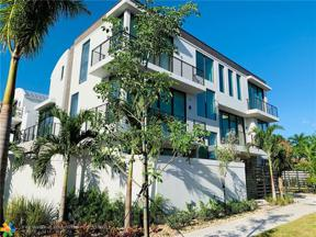 Property for sale at 1619 NE 1st Street Unit: 1619, Fort Lauderdale,  Florida 33301