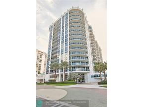 Property for sale at 801 Briny Unit: 1105, Pompano Beach,  Florida 33062