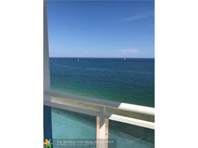 Property for sale at 3430 Galt Ocean Dr Unit: 1407, Fort Lauderdale,  Florida 33308
