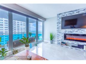 Property for sale at 3430 Galt Ocean Dr Unit: 804, Fort Lauderdale,  Florida 33308