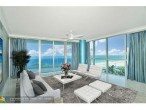 Property for sale at 1600 S Ocean Blvd Unit: 401, Lauderdale By The Sea,  Florida 33062
