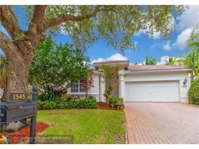 Property for sale at 1545 NW 121st Dr, Coral Springs,  Florida 33071