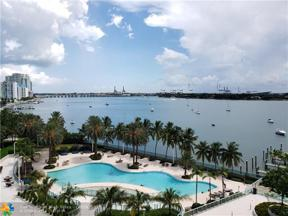 Property for sale at 1500 Bay Rd Unit: 828S, Miami Beach,  Florida 33139