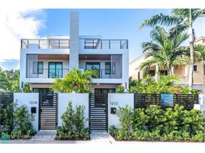 Property for sale at 1212 NE 1 Unit: A, Fort Lauderdale,  Florida 33301
