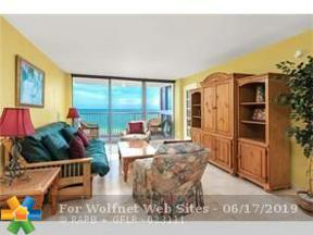 Property for sale at 2655 Collins Ave Unit: 1412, Miami Beach,  Florida 33140