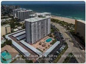 Property for sale at 405 N Ocean Blvd Unit: 503, Pompano Beach,  Florida 33062