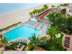 Property for sale at 4040 Galt Ocean Dr Unit: 700, Fort Lauderdale,  Florida 33308
