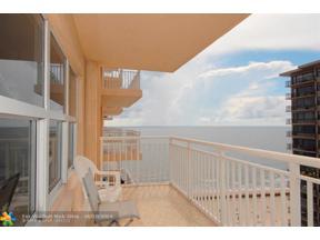 Property for sale at 3850 Galt Ocean Dr Unit: 1204, Fort Lauderdale,  Florida 33308