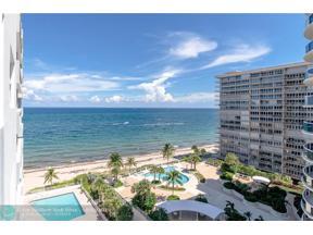 Property for sale at 4250 Galt Ocean Dr Unit: 11H, Fort Lauderdale,  Florida 33308