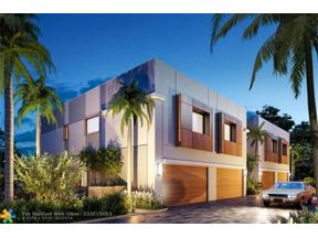Property for sale at 696 NE 43rd Unit: 7, Oakland Park,  Florida 33334