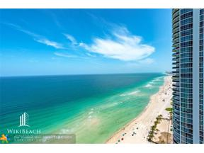 Property for sale at 15901 Collins Ave Unit: 2701, Sunny Isles Beach,  Florida 33160