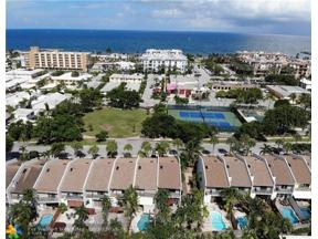 Property for sale at 4505 Poinciana St Unit: 4505, Lauderdale By The Sea,  Florida 33308