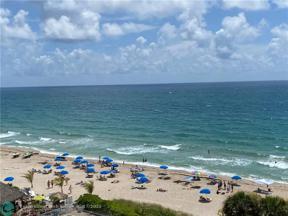 Property for sale at 4020 Galt Ocean Dr Unit: 609, Fort Lauderdale,  Florida 33308