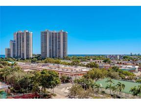 Property for sale at 3233 NE 34th St Unit: 912, Fort Lauderdale,  Florida 33308