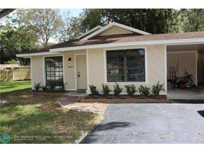 Property for sale at 3645 W Forge Rd Unit: 34, Davie,  Florida 33328
