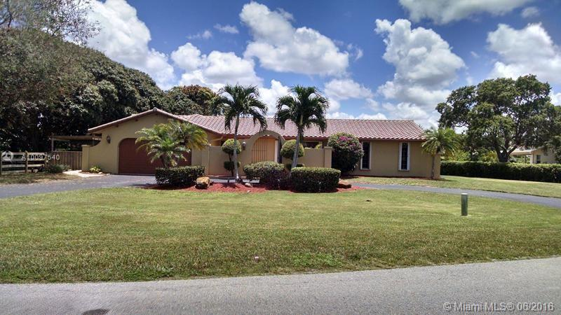 Photo of home for sale at 11020 42nd Ct SW, Davie FL