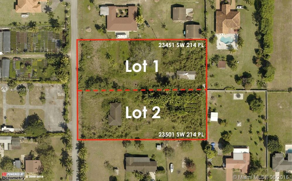Photo of home for sale at 23451 214th Pl SW, Homestead FL