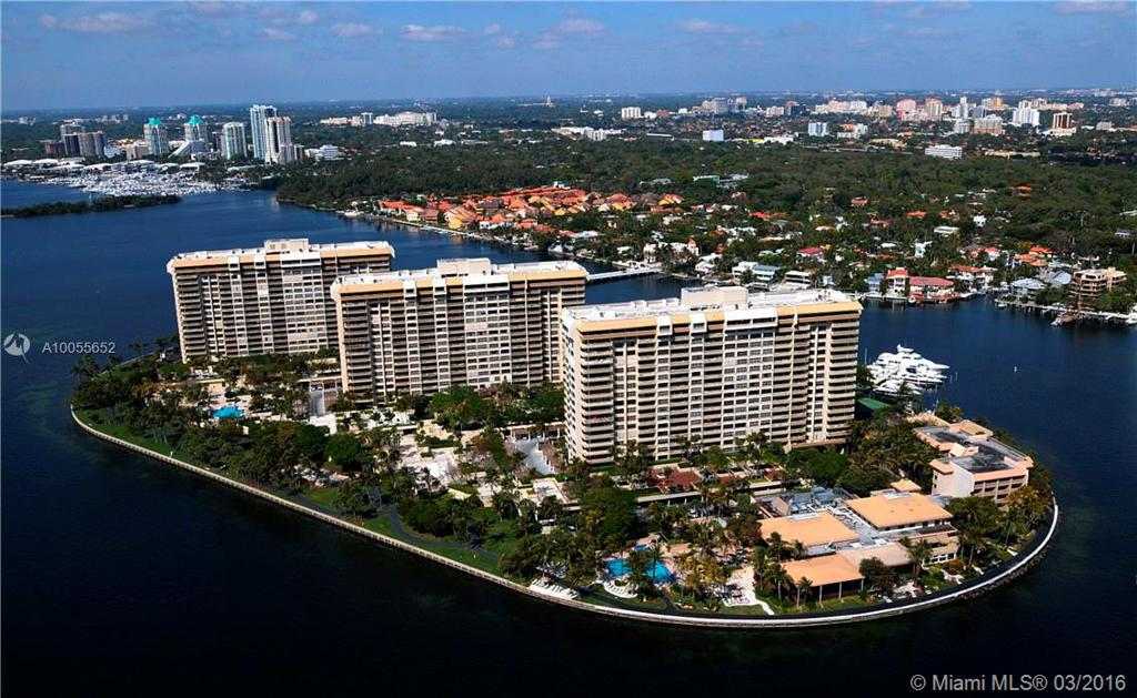 Photo of home for sale at 2 GROVE ISLE DR, Coconut Grove FL