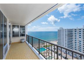 Property for sale at 4280 Galt Ocean Dr Unit: 15J, Fort Lauderdale,  Florida 33308