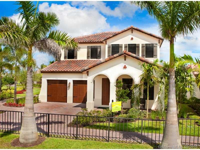 Photo of home for sale at 8331 40th St NW, Cooper City FL