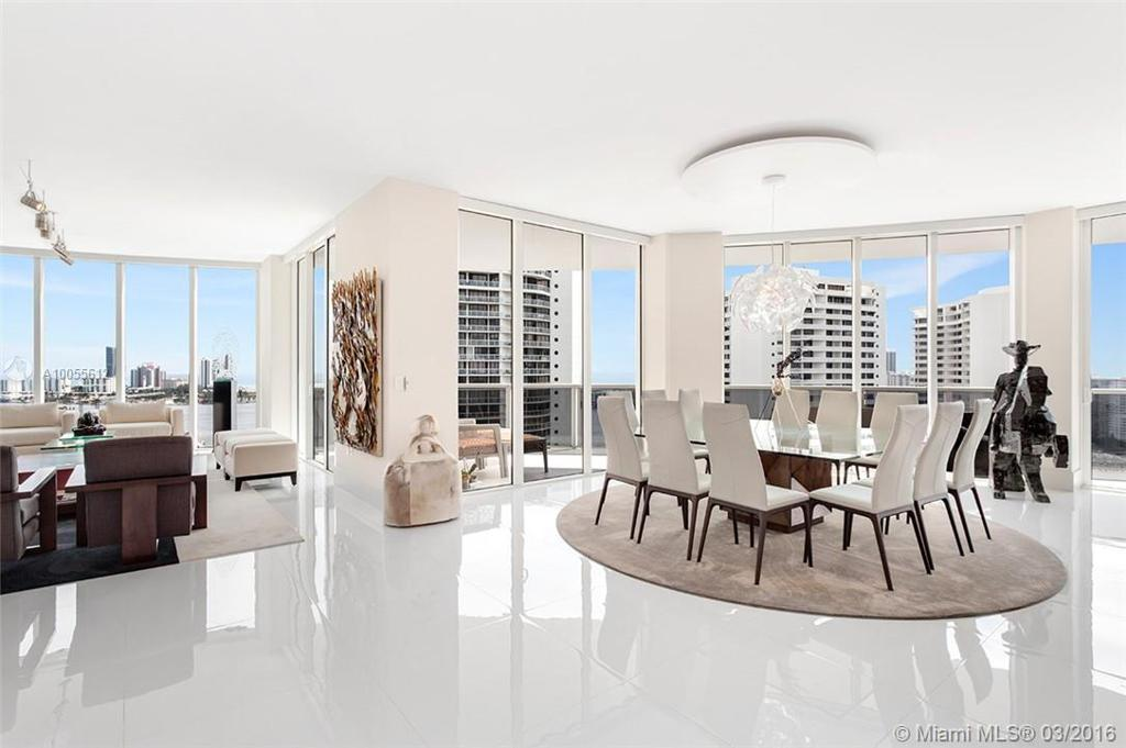 Photo of home for sale at 4100 ISLAND BL, Aventura FL