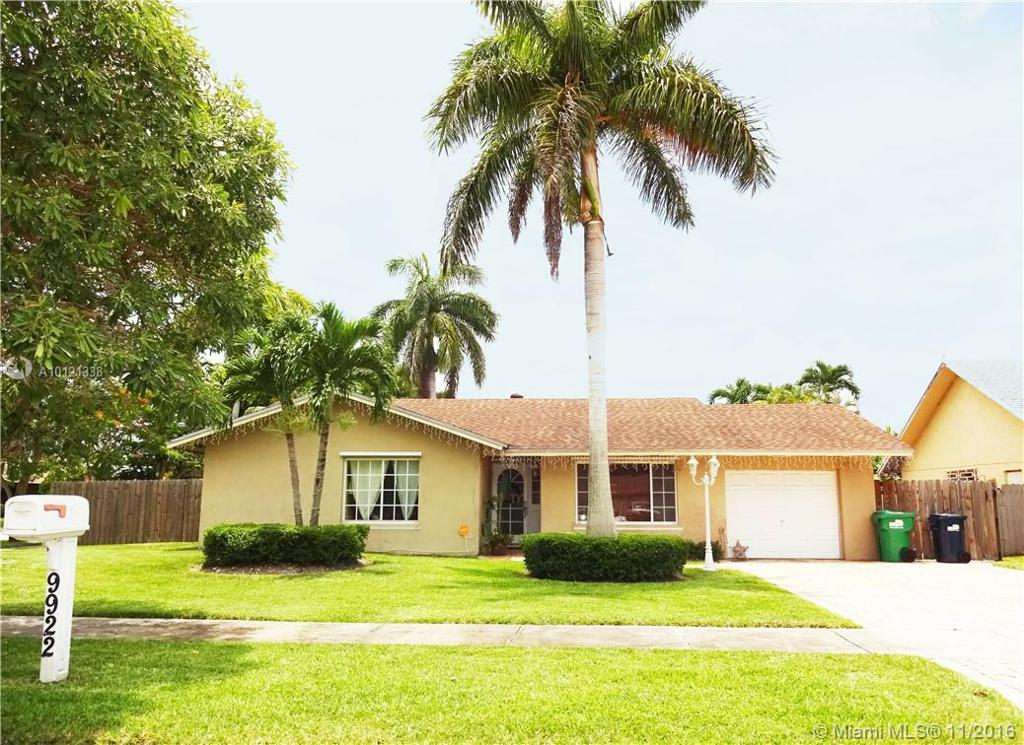 Photo of home for sale at 9922 133rd Pl SW, Miami FL