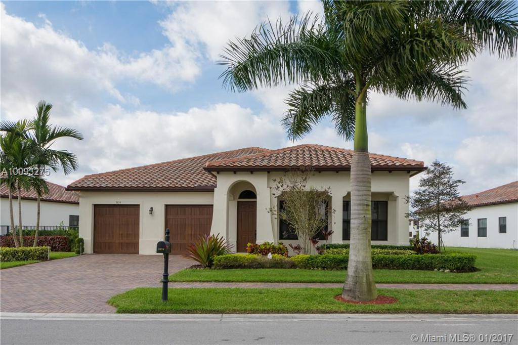 Photo of home for sale at 3374 82ND TE NW, Cooper City FL
