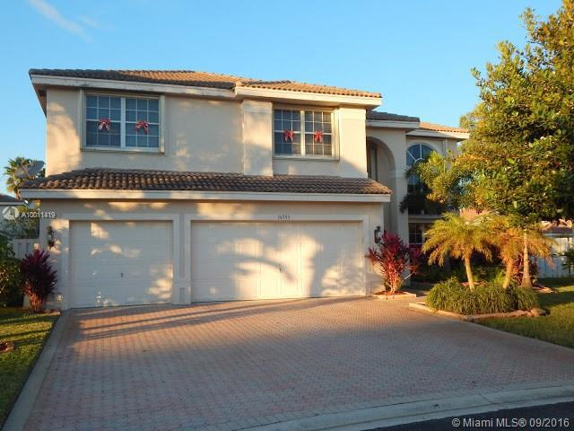 Photo of home for sale at 16553 19th St SW, Miramar FL