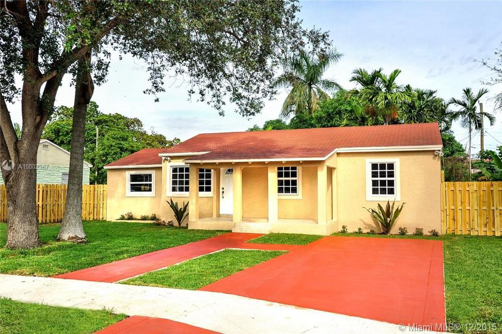 Photo of home for sale at 1477 102nd St NW, Miami FL