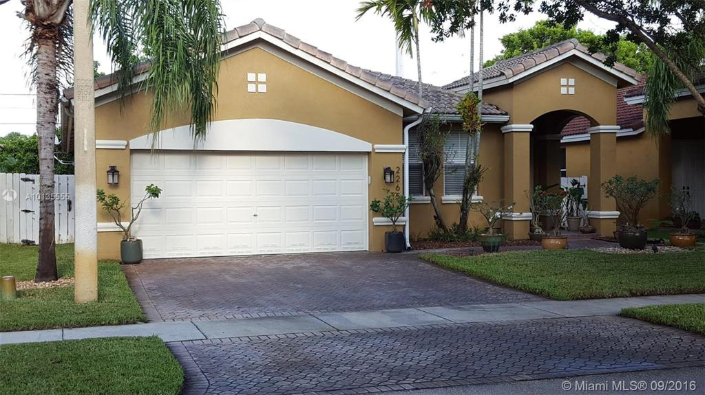 Photo of home for sale at 2265 125th Ave SW, Miramar FL