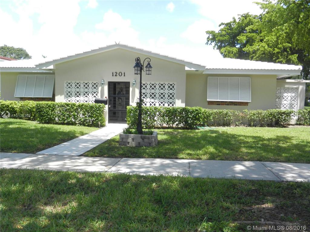 Photo of home for sale at 1201 Meadow Lark Ave, Miami Springs FL