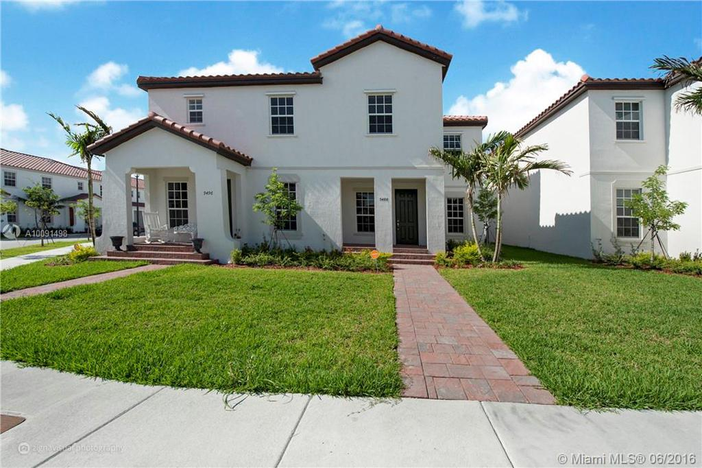 Photo of home for sale at 9488 171st Pl SW, Miami FL