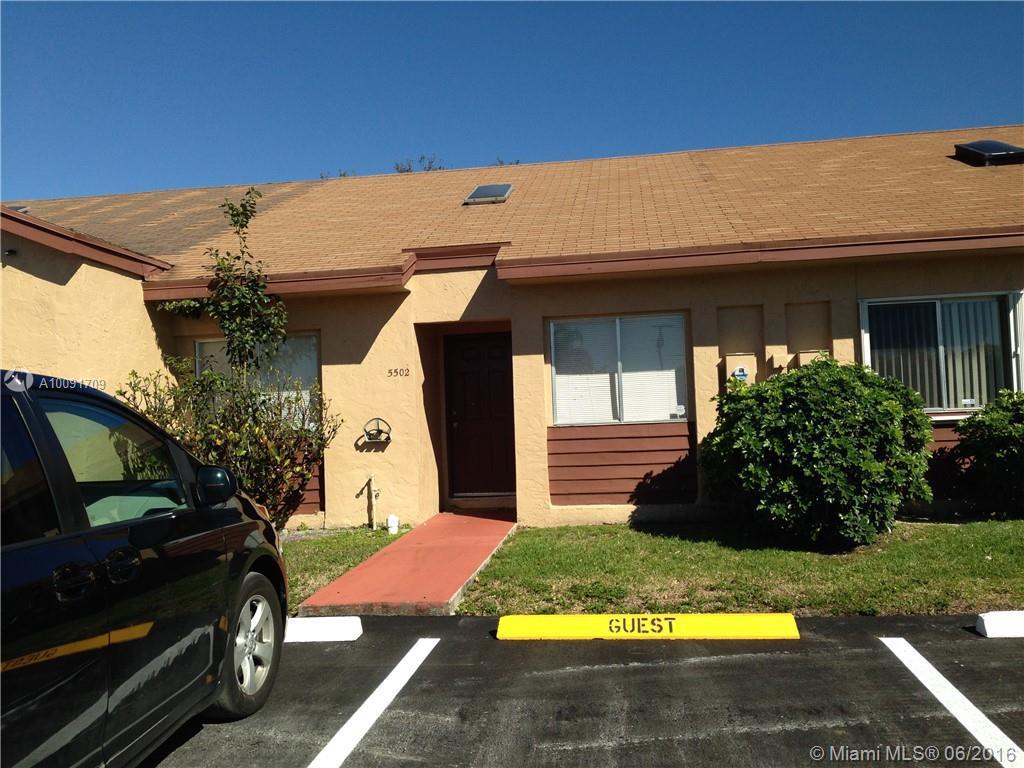 Photo of home for sale at 5502 28 TE SW, Dania Beach FL
