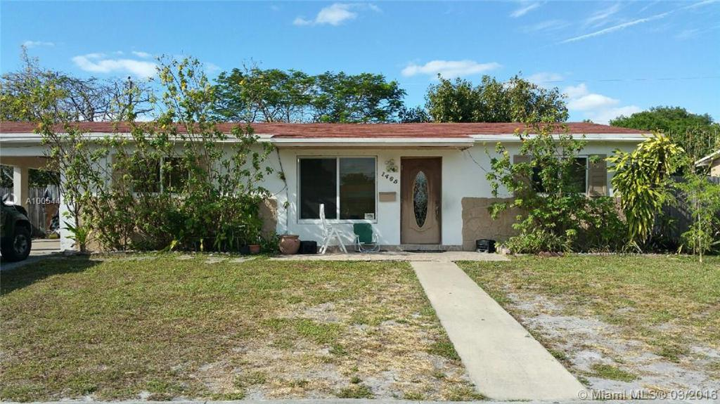 Photo of home for sale at 1465 193rd Ter NW, Miami FL
