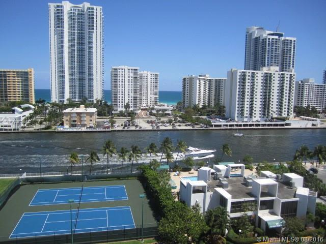 Photo of home for sale at 800 Parkview Dr, Hallandale FL
