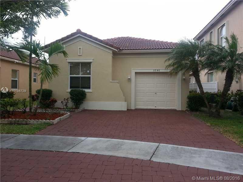 Photo of home for sale at 3746 23rd Ct NE, Homestead FL