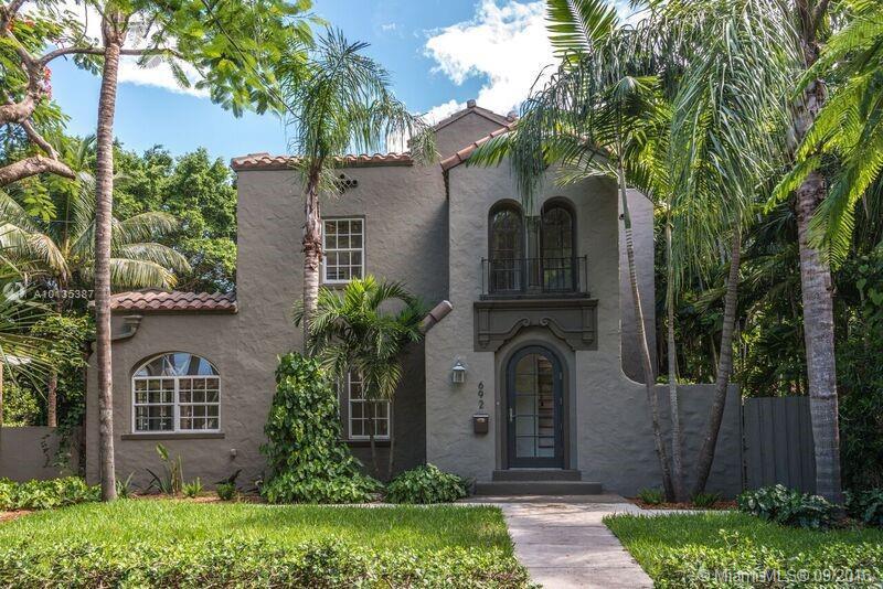 Photo of home for sale at 692 70 st NE, Miami FL