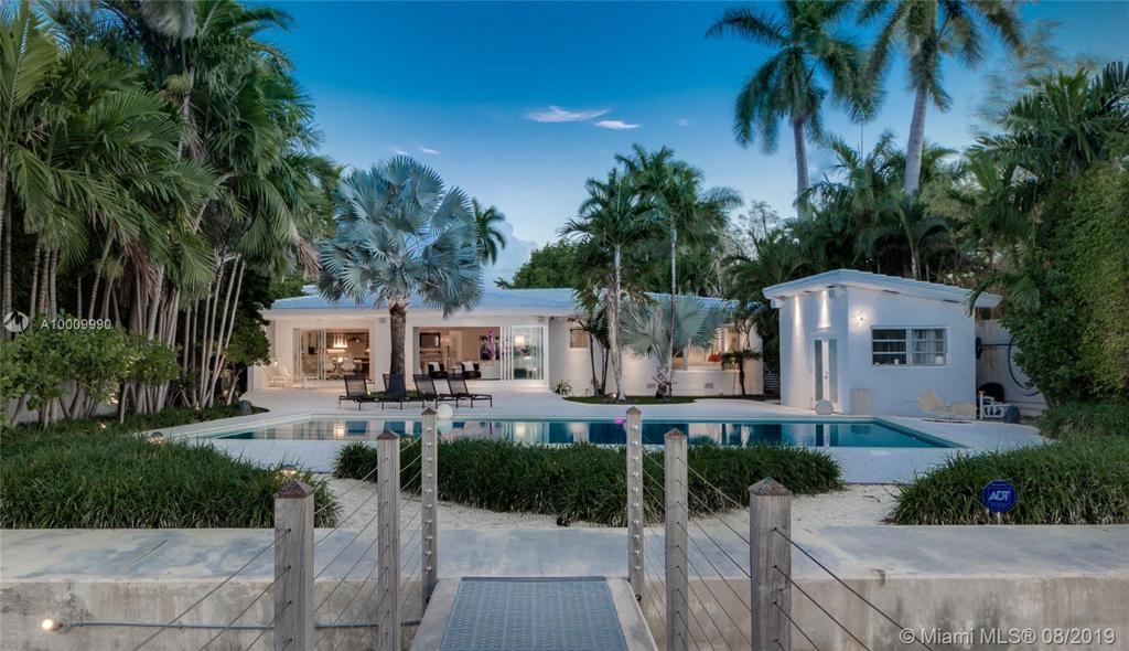 Photo of home for sale at 6050 Bay Rd, Miami Beach FL