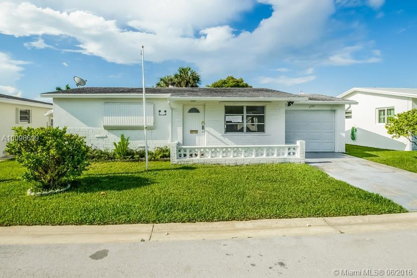 Photo of home for sale at 6750 17th St, Margate FL