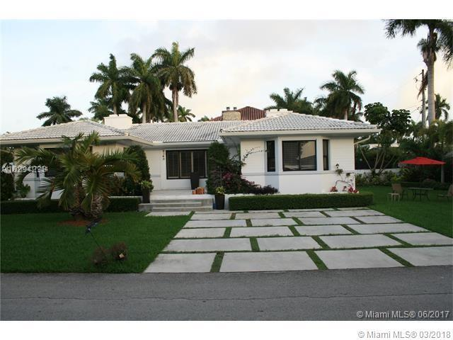 Photo of home for sale at 7401 Center Bay Dr, North Bay Village FL