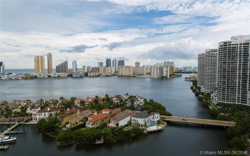 Photo of home for sale at 7000 Island Blvd, Aventura FL