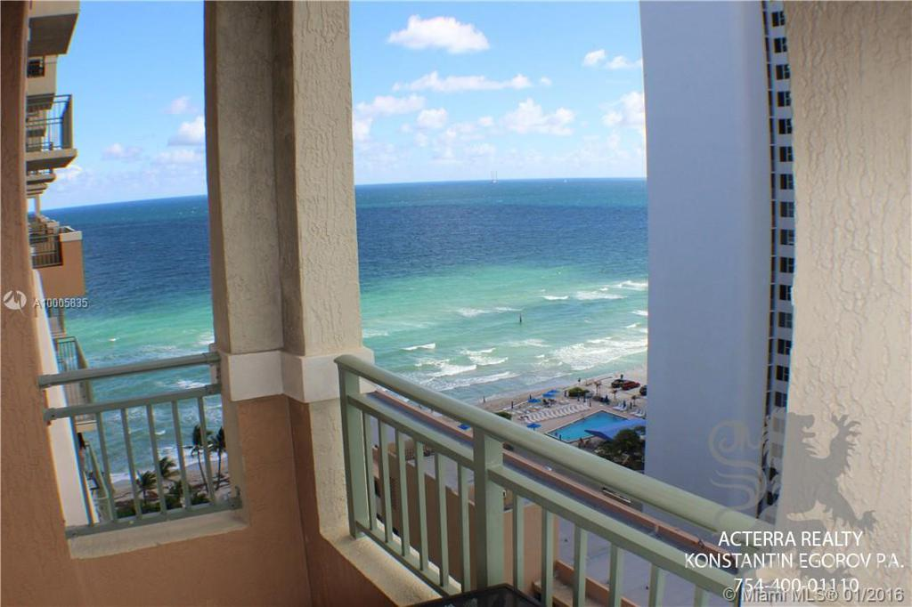 Photo of home for sale at 2080 OCEAN DR S, Hallandale FL