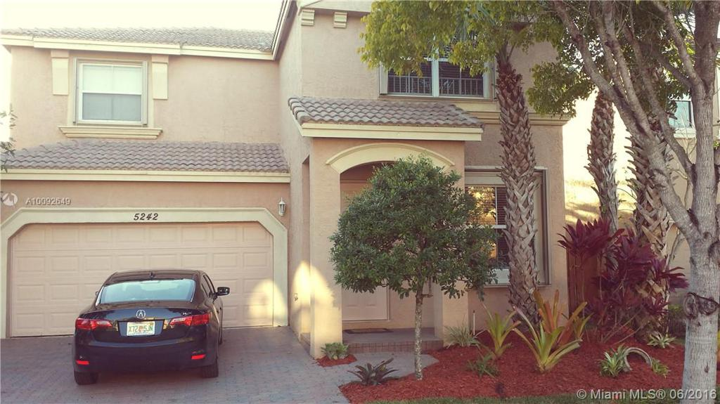 Photo of home for sale at 5242 155th Ave SW, Miramar FL